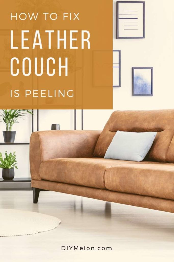 how to fix leather couch is peeling