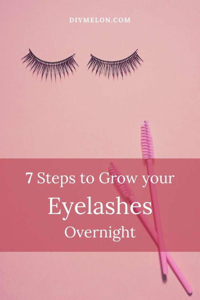 grow eyelashes overnight