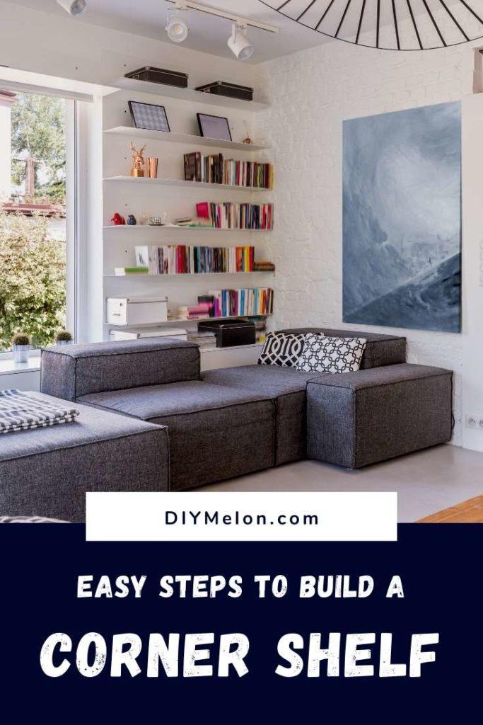 build a corner shelf