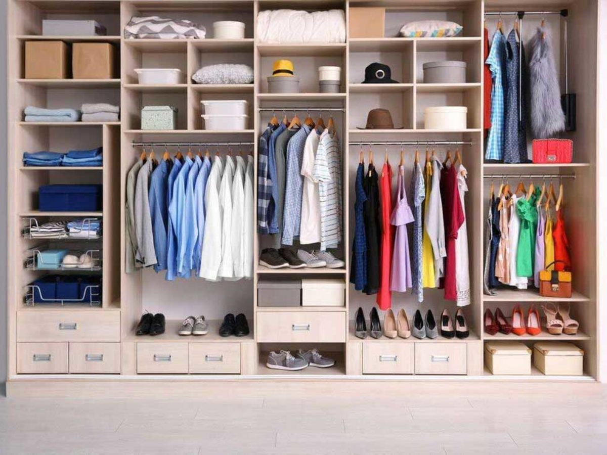How to Cover a Closet without Doors - 30 Unique Methods