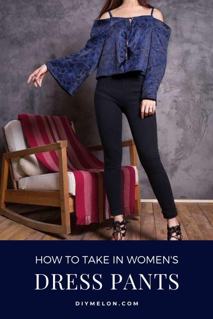 take in women's dress pants