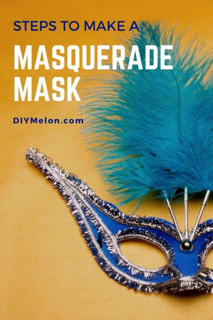 make a masquerade mask